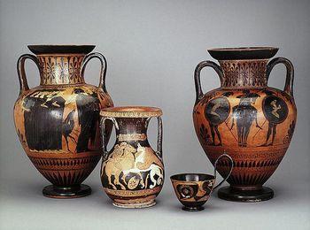Древнегреческие посуда