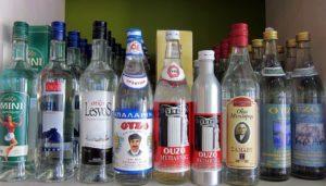 Алкогольный ассортимент магазинов Афин