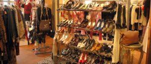 Обувной магазин. Торговая улица Афин